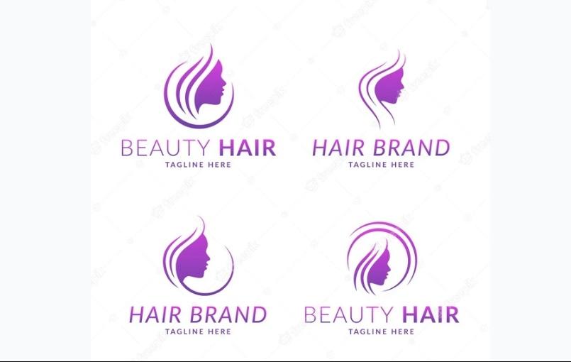 Free Hair Logo Identity Design