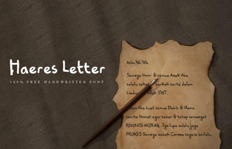 Free Hand Written Fonts