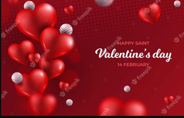 Free Happy Valentine's Day Vackground