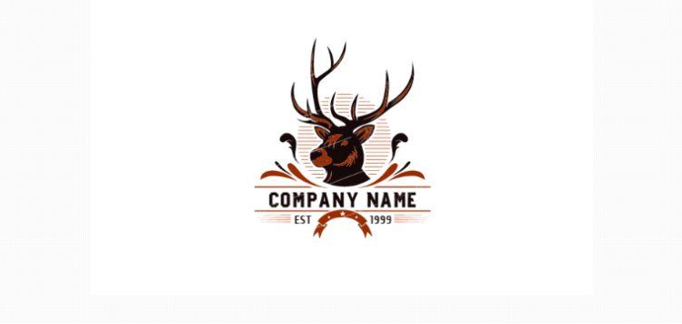 Free High Quality Deer Logo