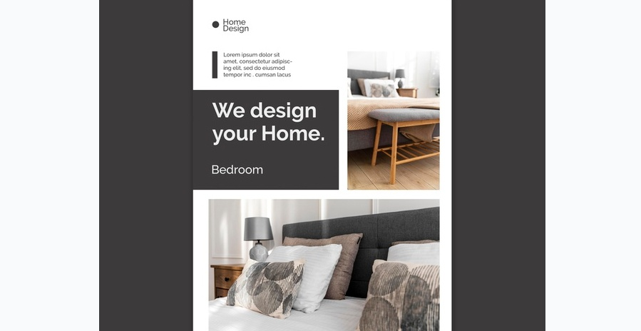 Free Home Design Flyer