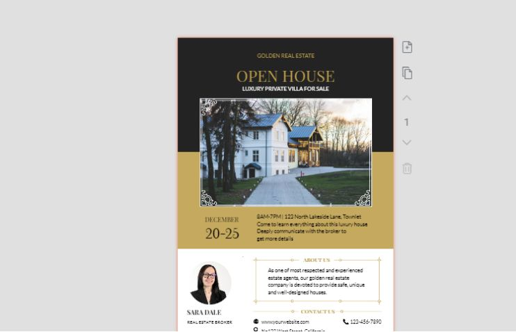 Free House Selling Flyer
