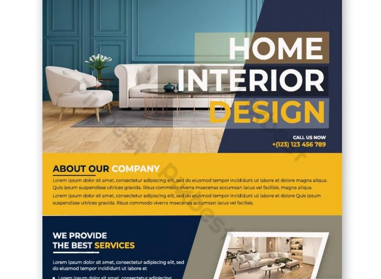 Free Interior Business Flyer