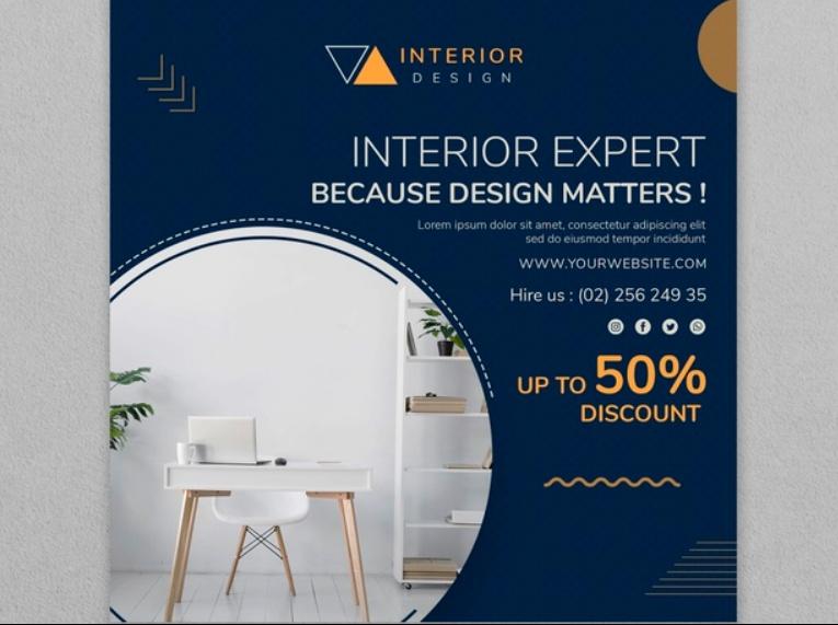 Free Interior Expert Flyer