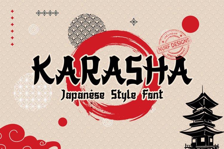 Free Japanese Style Fonts