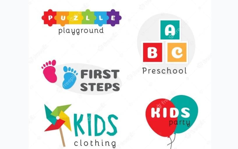 Free Kids Logo Collection