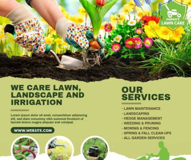 Free Lawn Care Flyer
