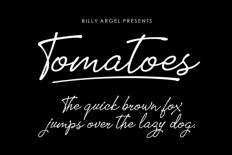 Free Lined Signature Fonts