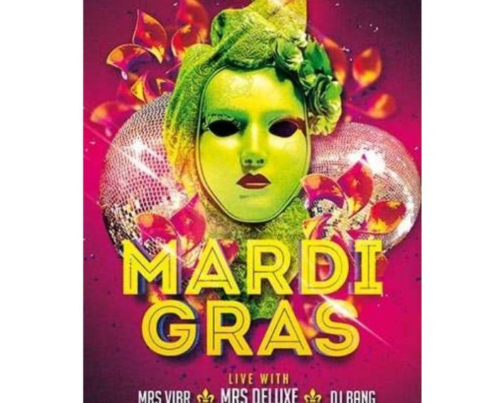 Free Mardi Gras flyer Template PSD