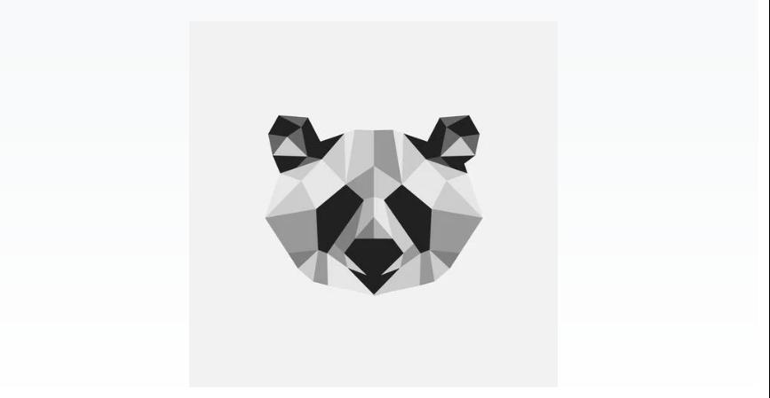 Free Minimal panda Logos
