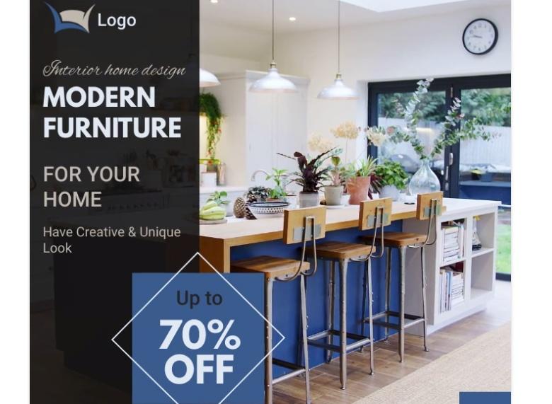Free Modern Furniture Flyer