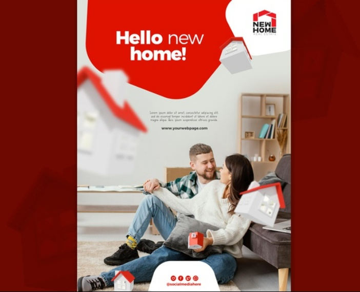 Free New Home Flyer