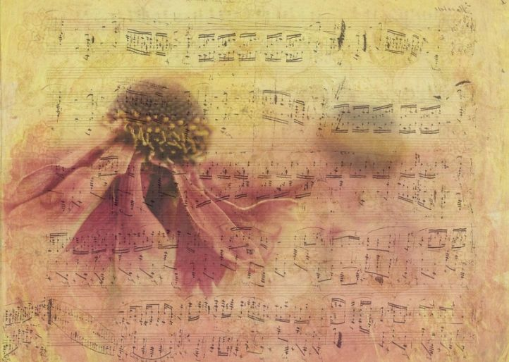 Free Old Music Paper Texture