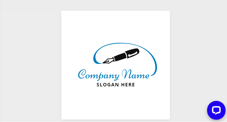 Free Pen Style Company Logo Design