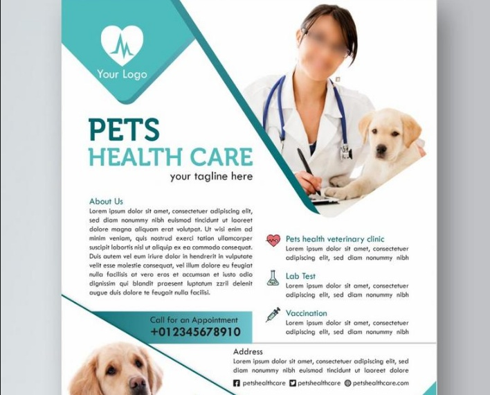 Free Pet Health Flyer Template