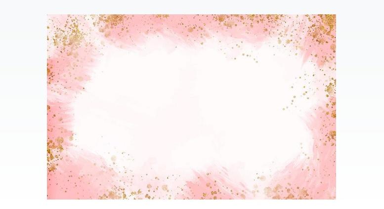 Free Pink Frame Background