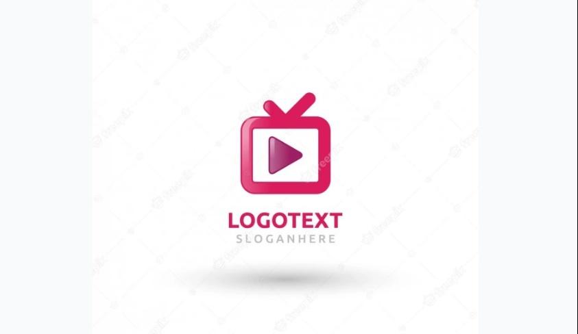 Free Pink TV Logos