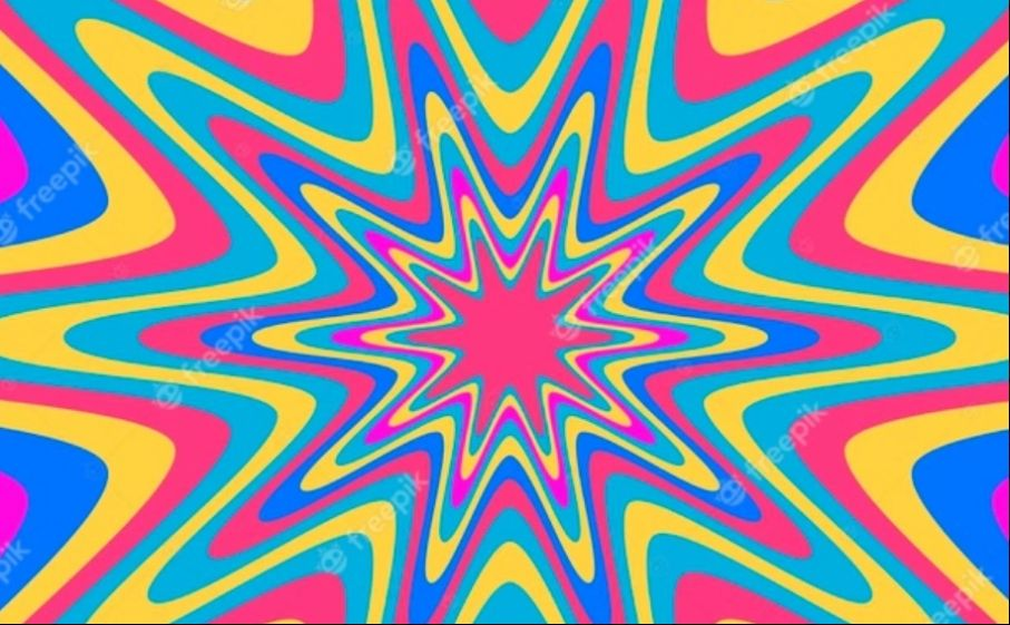 Free Psychedelic Background Design