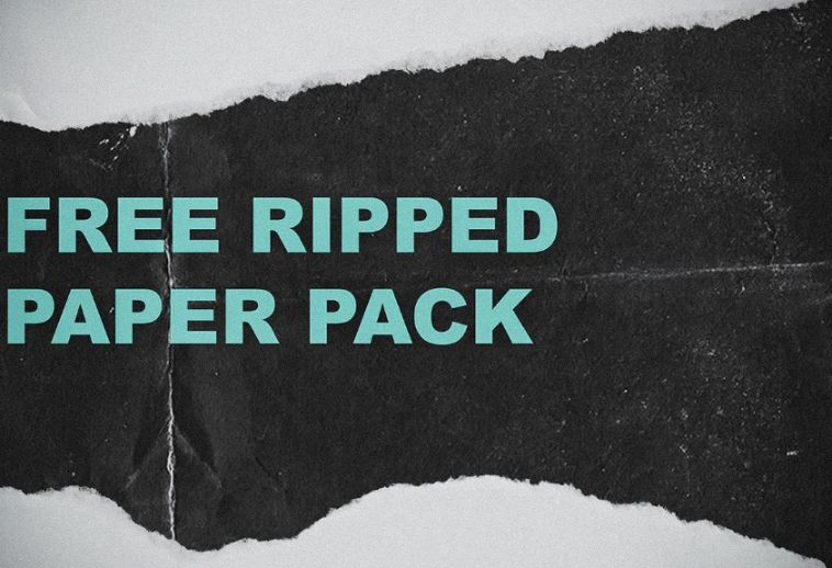Free Ripped Paper Pack