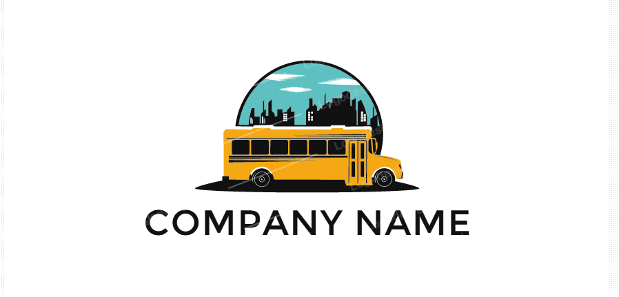 Free School Bus Logo Design