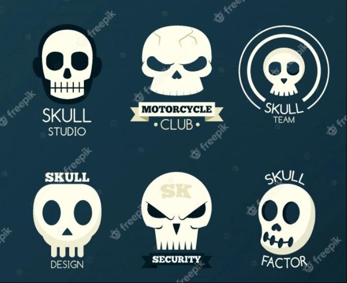 Free Skull Identit Set