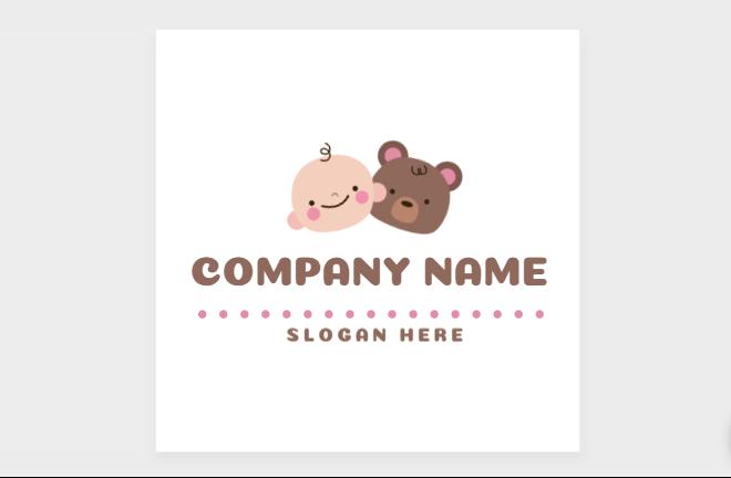 Free Smal Kids Logo Design