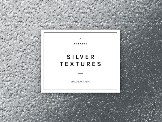 Free Sparkly Silver Foil Background