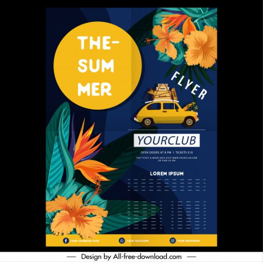 Free Summer Camp Flyer Templates