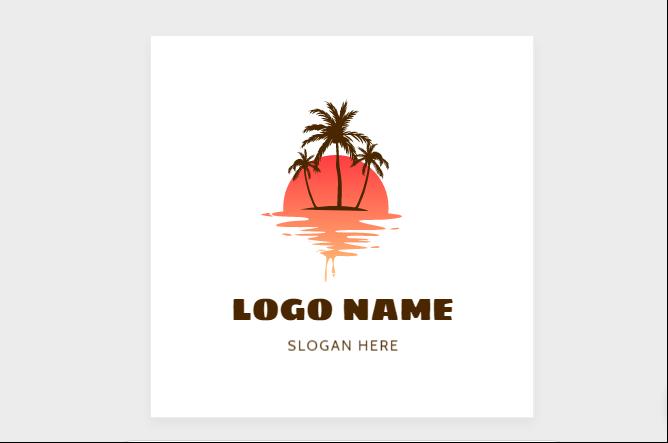 Free Sunset Logo