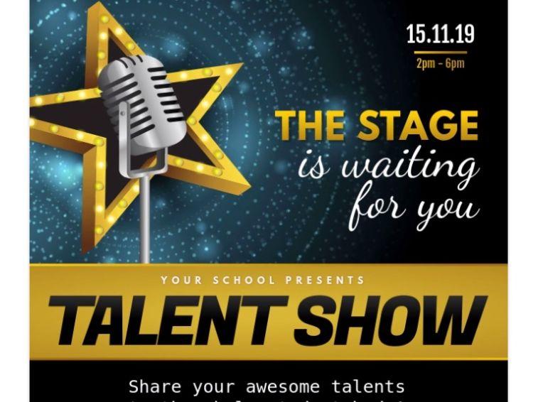 Free Talent Show Flyer Design
