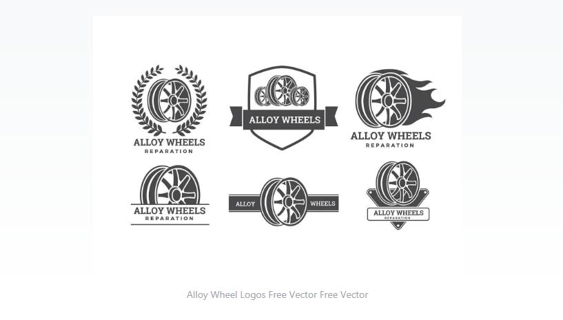 Free Tire Logo Design Set