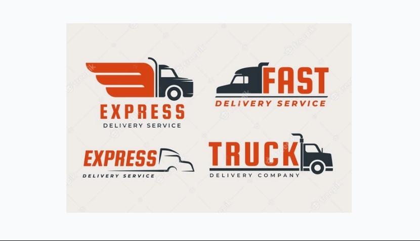 Free Truck Logo Set
