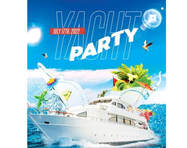 Free Yacht Party Flyer Design
