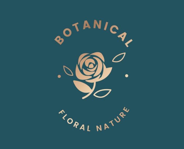 Free botanical Logo Design