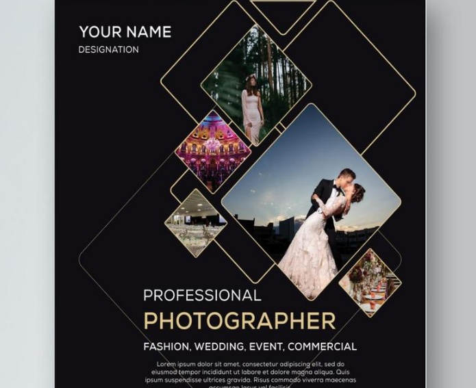 Free wedding photography flyers