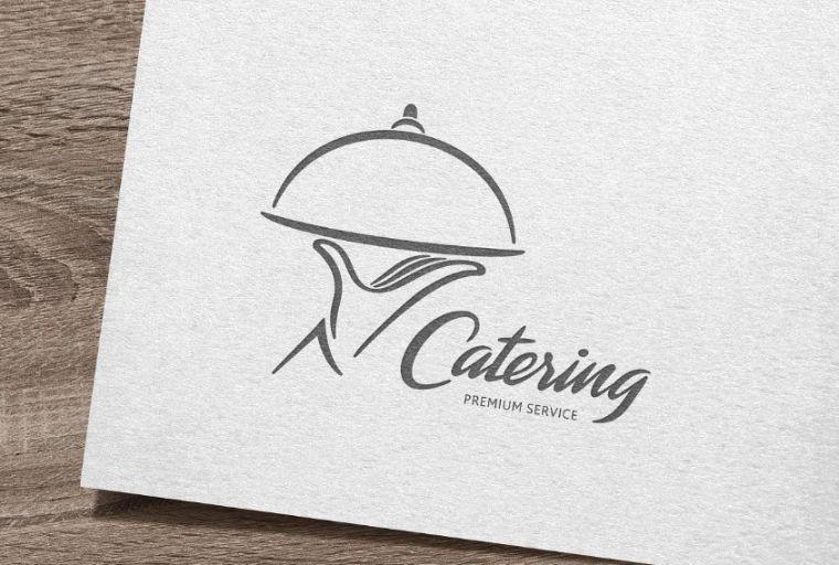 Fully Editable Catering Logo Design