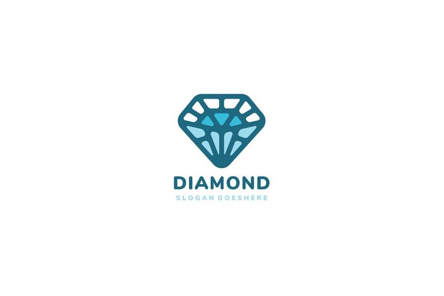 Fully Editable Diamond Branding Design