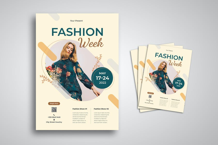 Fully Editable Fashion Poster