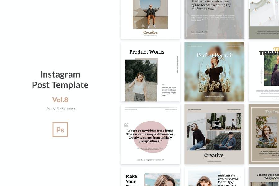 Fully Editable Instagram Stories Template