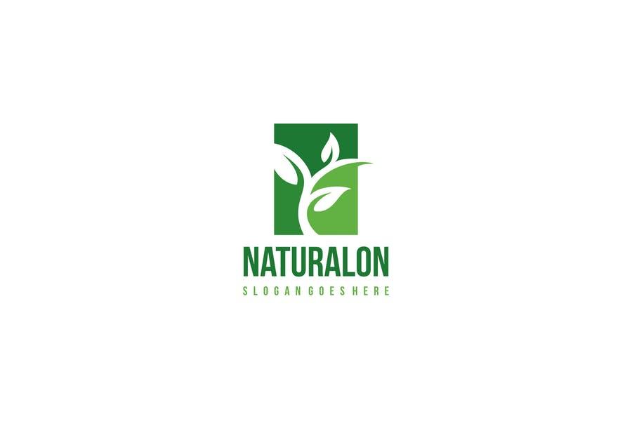Fully Editable Leaf Logo