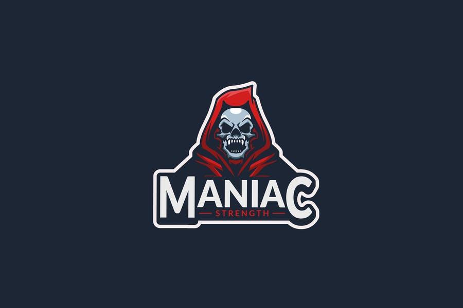 Fully Editable Skull Logotype