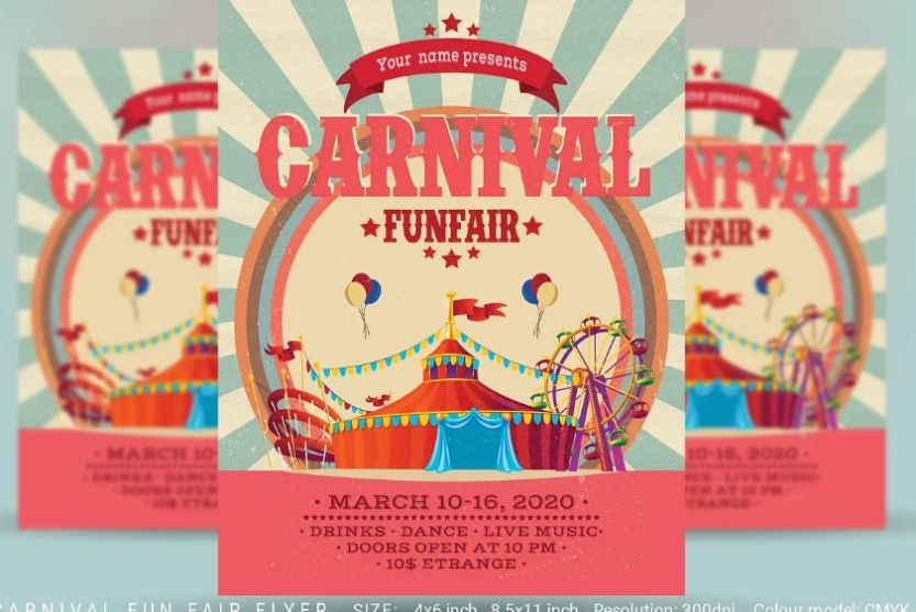 Fun Fair Festival Flyer