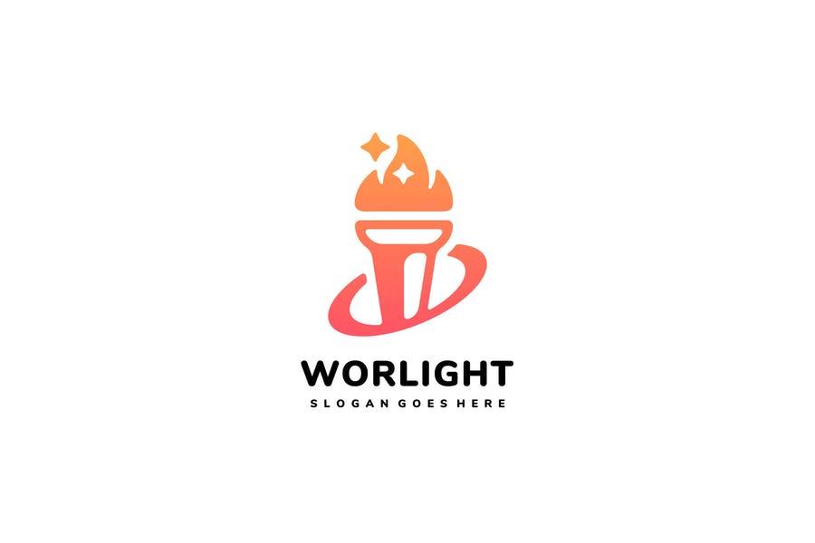 Galaxy Torch Logo Design