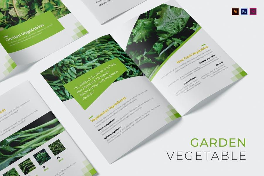 Garden Vegitable Catalog Template