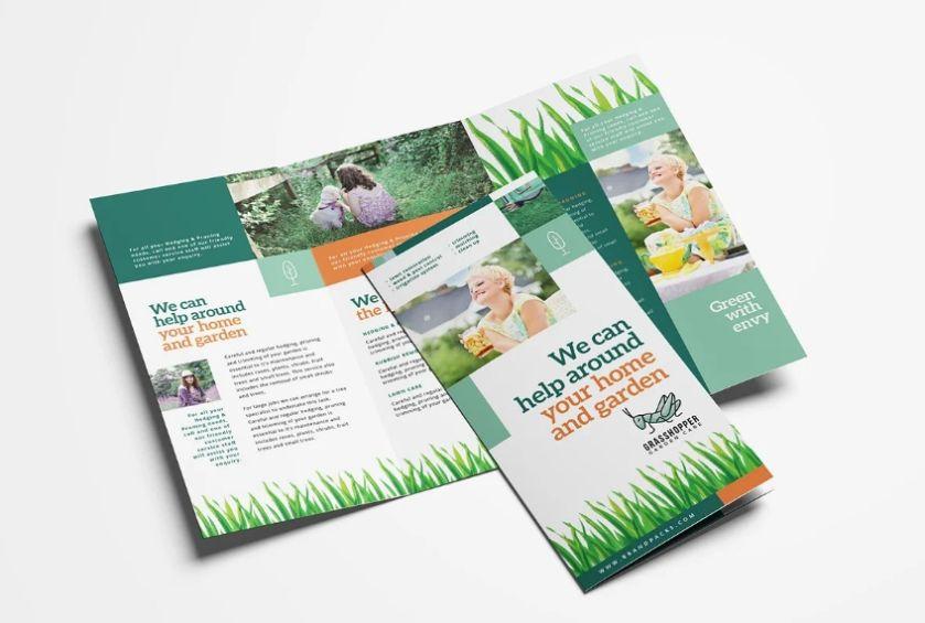 Gardener Service Brochure Template