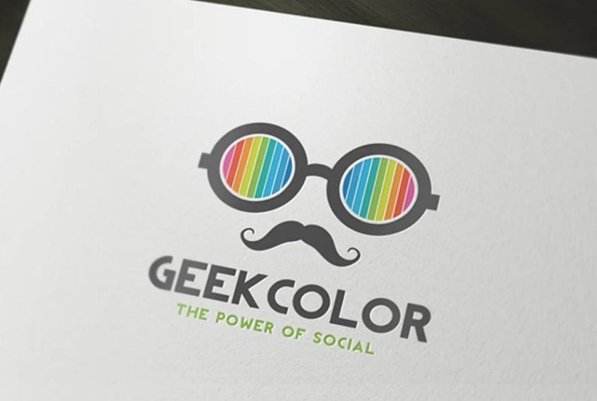 Geek Company Logo Template