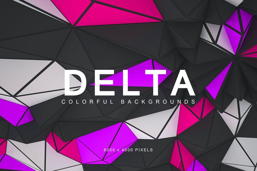 Geometric Style Colorful Backgrounds