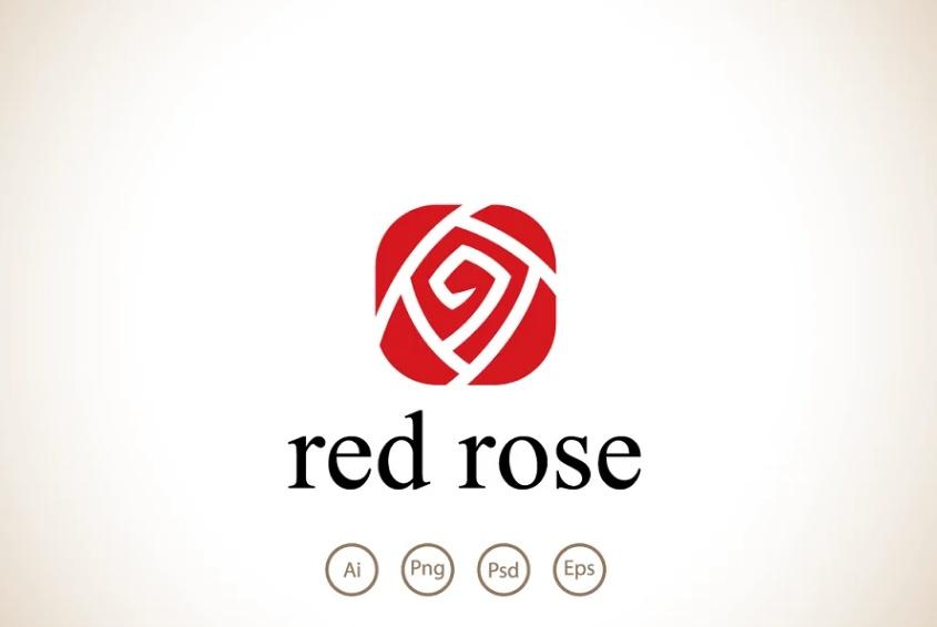 Geometric and Romatic Logo Identity
