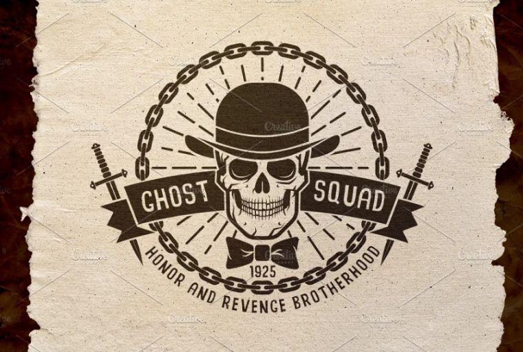 Ghost Skull Branding Design