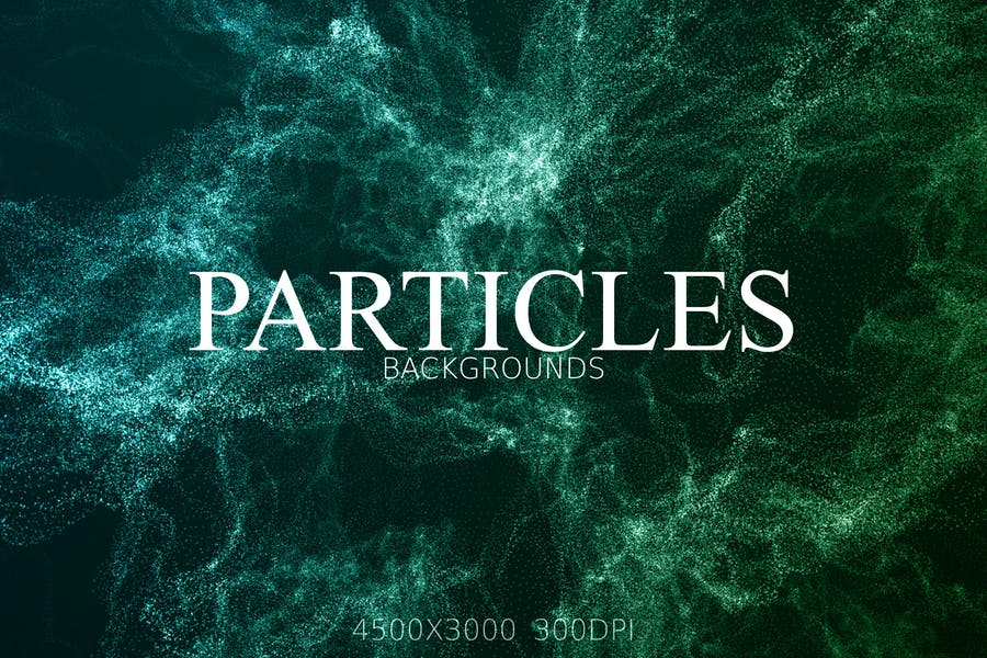 Glitter Particle Style Background Design